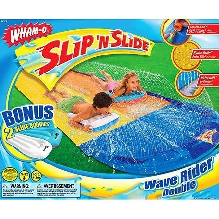 Wham-O Double Wave Rider with 2 Boogie (Best Wham-o Boogie Boards)