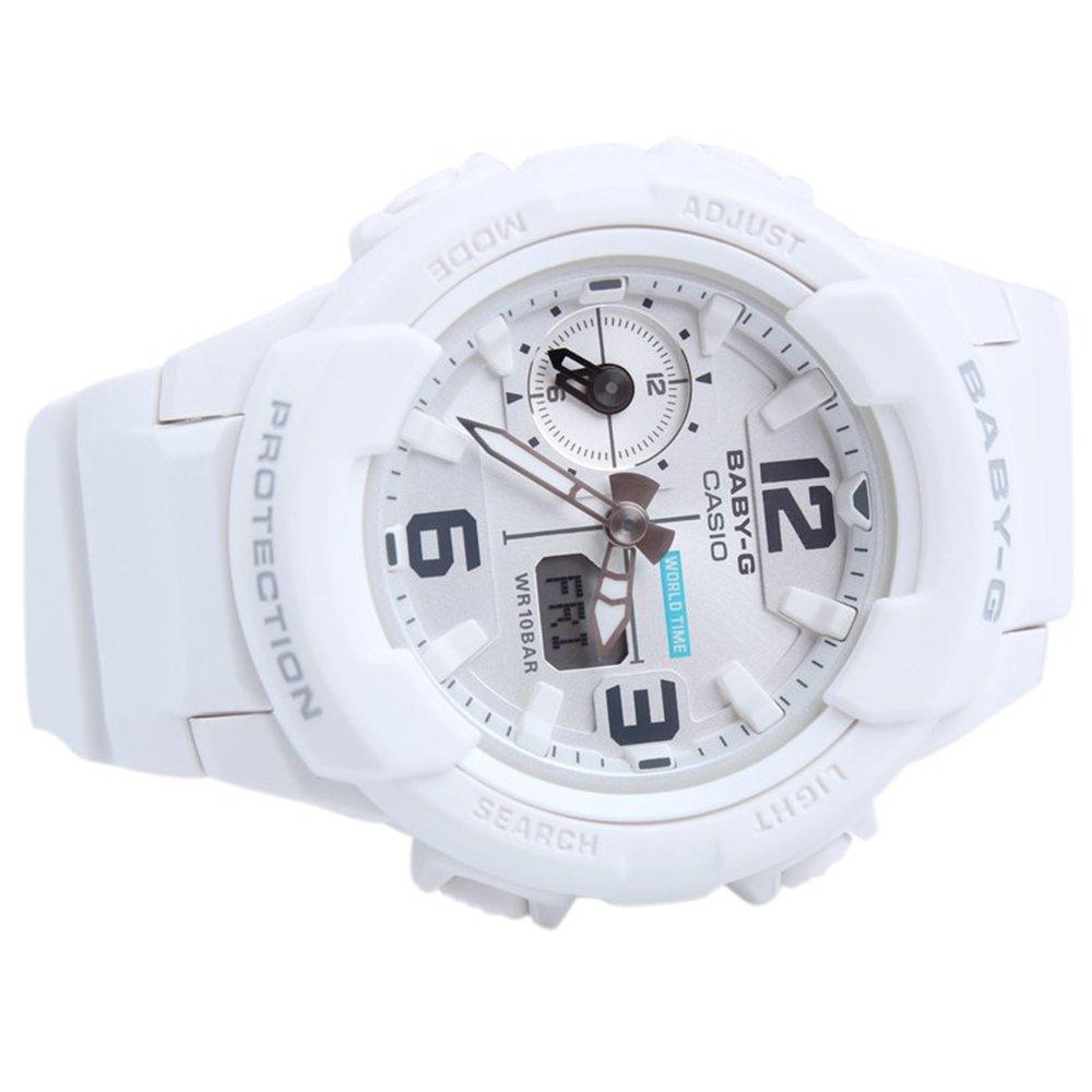 Casio Baby G Bga230 7b White Resin Analog Bga 230 Original Digital Quartz Womens Watch Watches