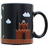 Super Mario Collectibles | Super Mario 8-Bit Boss Black Ceramic Coffee Mug