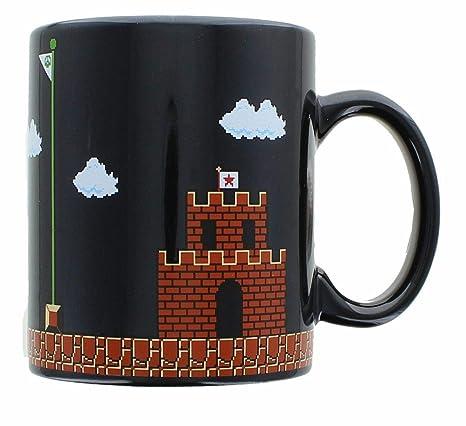 Amazon.com: Super Mario Collectibles   Super Mario 8-Bit Boss Black ...