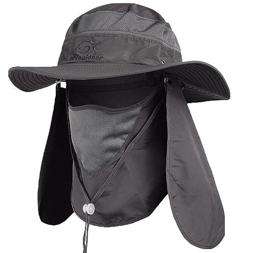 56497e4c357e0 Ddyoutdoor™ 07-281 Fashion Summer Outdoor Sun Protection Fishing Cap Neck  Face Flap Hat
