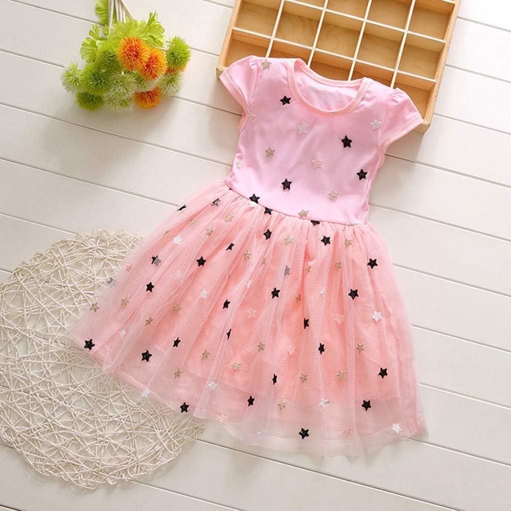0-5 Jahre Allence Baby M/ädchen Kleid Prinzessin Hochzeit Taufkleid Blumen M/ädchen Festlich Kleid Kleinkind Festzug Kleidung Sommer Pailletten Kleider
