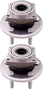 Wheel Bearing and Hub Assembly-Axle Bearing and Hub Assembly Front fits 04-05 3