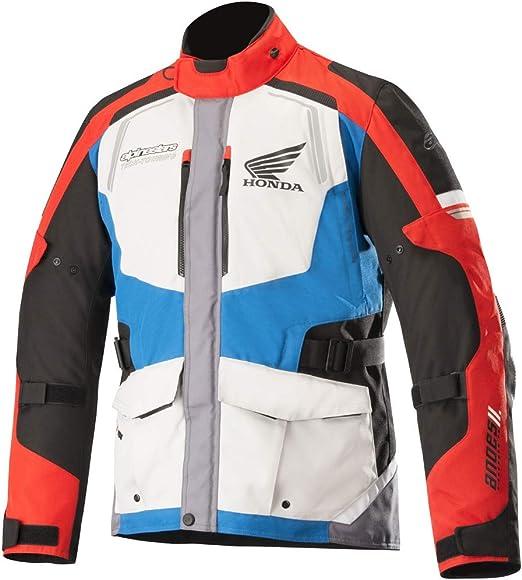 Alpinestars Andes V2 Drystar Textile Motorcycle Motorbike Jacket Black Camo Red