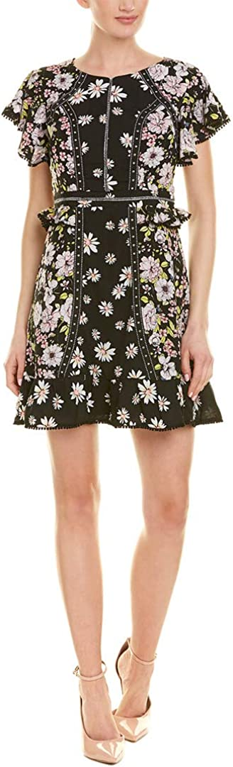 Laundry by Shelli Segal Women's Floral Studded Dress