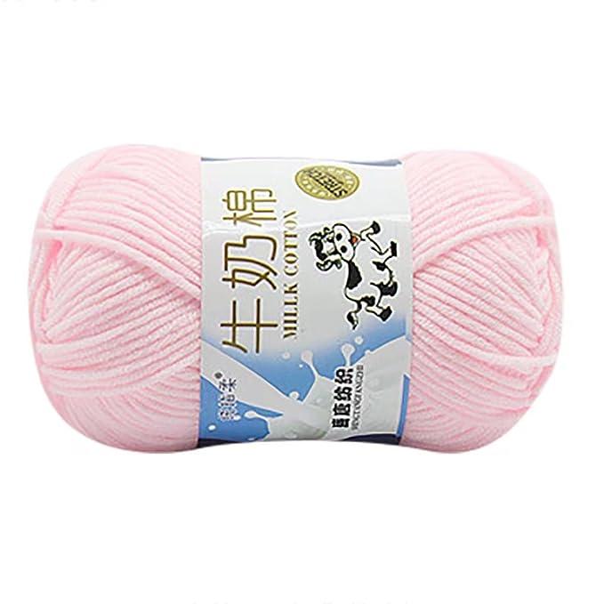 hlhn 50g NEW geschoben Colorful Hand stricken Noten Milk Baumwolle h Küchen-Spielzeugsets