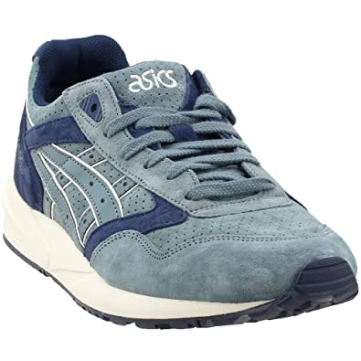 sale retailer 17a75 9490a ASICS Tiger Men Gel-Saga (Blue/Goblin Blue/Navy)