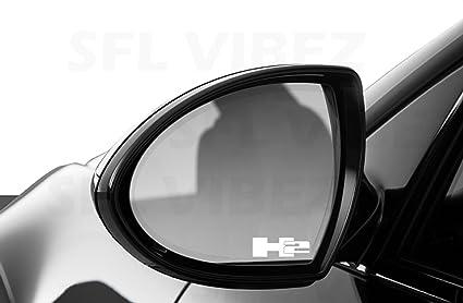 06e454eb610ad Amazon.com  Hummer H2 Mirror Decal Vinyl Sticker Emblem Logo Car SUV ...