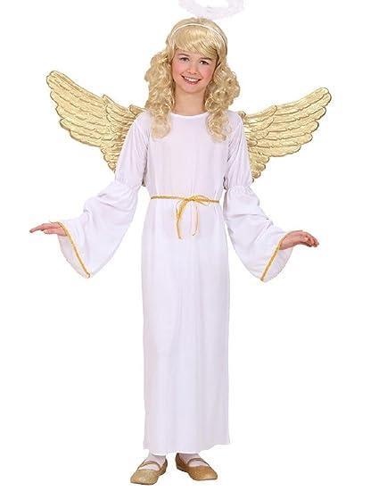 Taglia 128-5 - 7 anni - Costume - Travestimento - Carnevale - Halloween -  Angelo Cherubino - Colore Bianco - Unisex - Bambini  Amazon.it  Prima  infanzia f671cd366ec