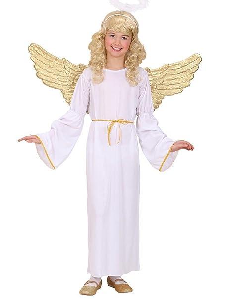 Talla 128-5-7 años - disfraz - carnaval - halloween - ángel ...