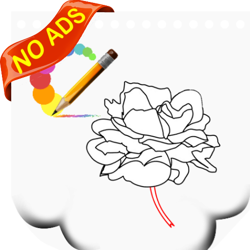 how to draw a rose step by step images
