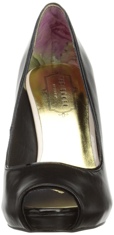 838238f809 Ted Baker Glister, Women's Peep-Toe Court Shoes, Black, 5 UK: Amazon.co.uk:  Shoes & Bags