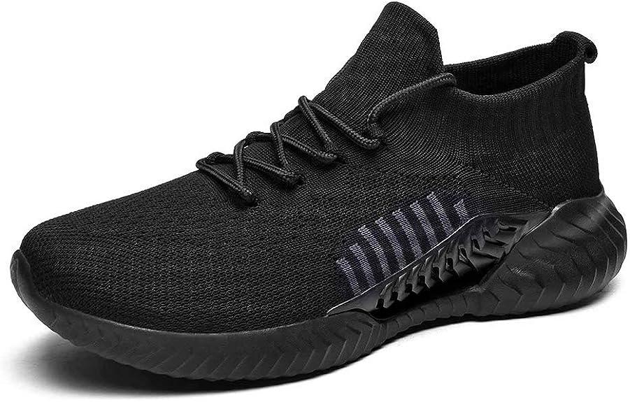 Men Women Casual Sock Mesh Shoes Trainers Flat Slip On Pumps Sneakers Size 3.5-7