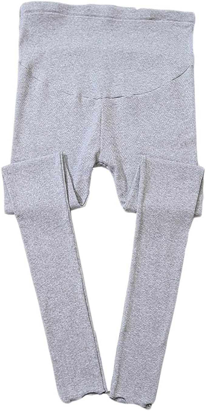Legging de Maternité, Pantalon de Femme Enceinte Elastique