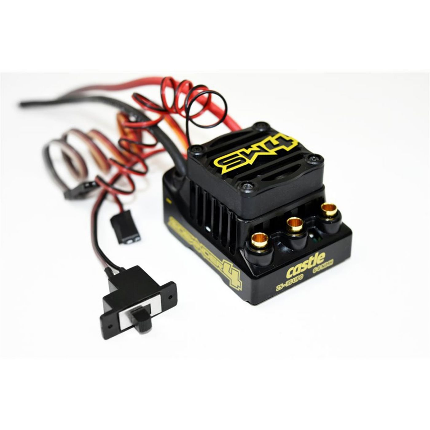 CASTLE CREATION Sidewinder SW4, 12.6V, 2A BEC, WP BRUSHLESS ESC