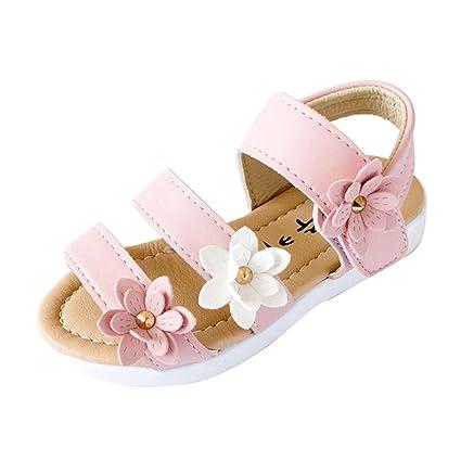 c9a063d94 NEARTIME ❤️Kid Shoes New Fashion 2018 Flower Cute Summer Children Sandals  Big Flower Girls Flat