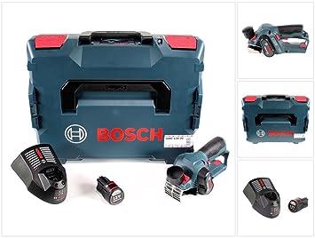 Bosch GHO 12 V de 20 Maquinilla de batería Professional en L-Boxx + 1 x GBA 12 V 3,0 Ah Batería + Gal 1230 CV Cargador rápido