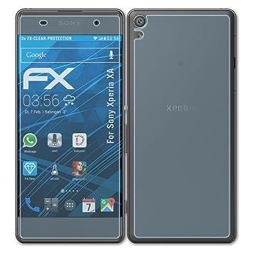 Handy-zubehör Atfolix 3x Displayschutzfolie Für Sony Xperia Z Ultra Schutzfolie Fx-clear Folie
