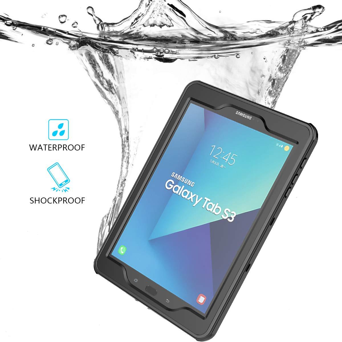 人気商品は Scheam B07L86G48H Samsung Galaxy Tab S3 9.7 防水ケース 防水 IP-68 防水 Samsung 耐衝撃 防塵 防雪 フルボディ保護ケース Samsung Galaxy Tab S3 9.7用交換ケース ブラック B07L86G48H, 月形町:af82b2bb --- a0267596.xsph.ru