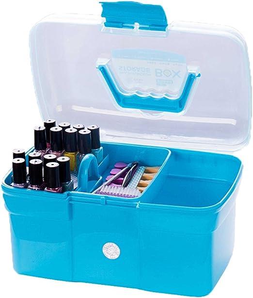 Babysbreath17 Escritorio Caja de plástico Tijeras de uñas ...