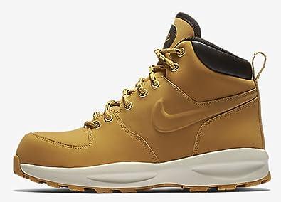 Nike Boy's Manoa 17 (GS) Boot, Haystack/Haystack-Velvet Brown 4Y