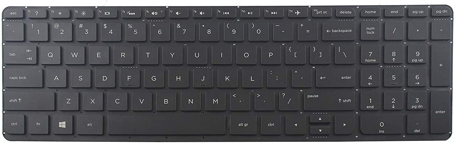 Givwizd Replacement Backlit Keyboard for HP Beats Special Edition 15-p008AU 15-p010la 15-P390NR 15-P030NR 15-P099NR 15Z-P000 CTO, Without Palmrest