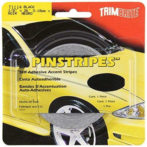 Trimbrite T1114 Pinstripe Tape Black product image