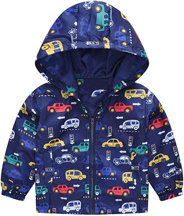 23c211190177 Amazon.com  Baby Toddler Boys Girls Fall Spring Clothes Jacket 1-5 ...