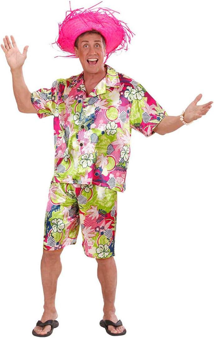 NET TOYS Disfraz Hawaii para Hombre con Camisa y Shorts - XL (ES ...