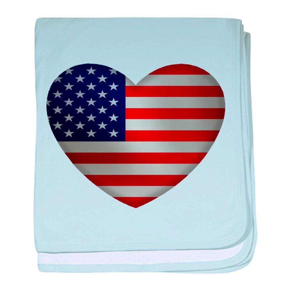 CafePress - Heart America - Baby Blanket, Super Soft Newborn Swaddle