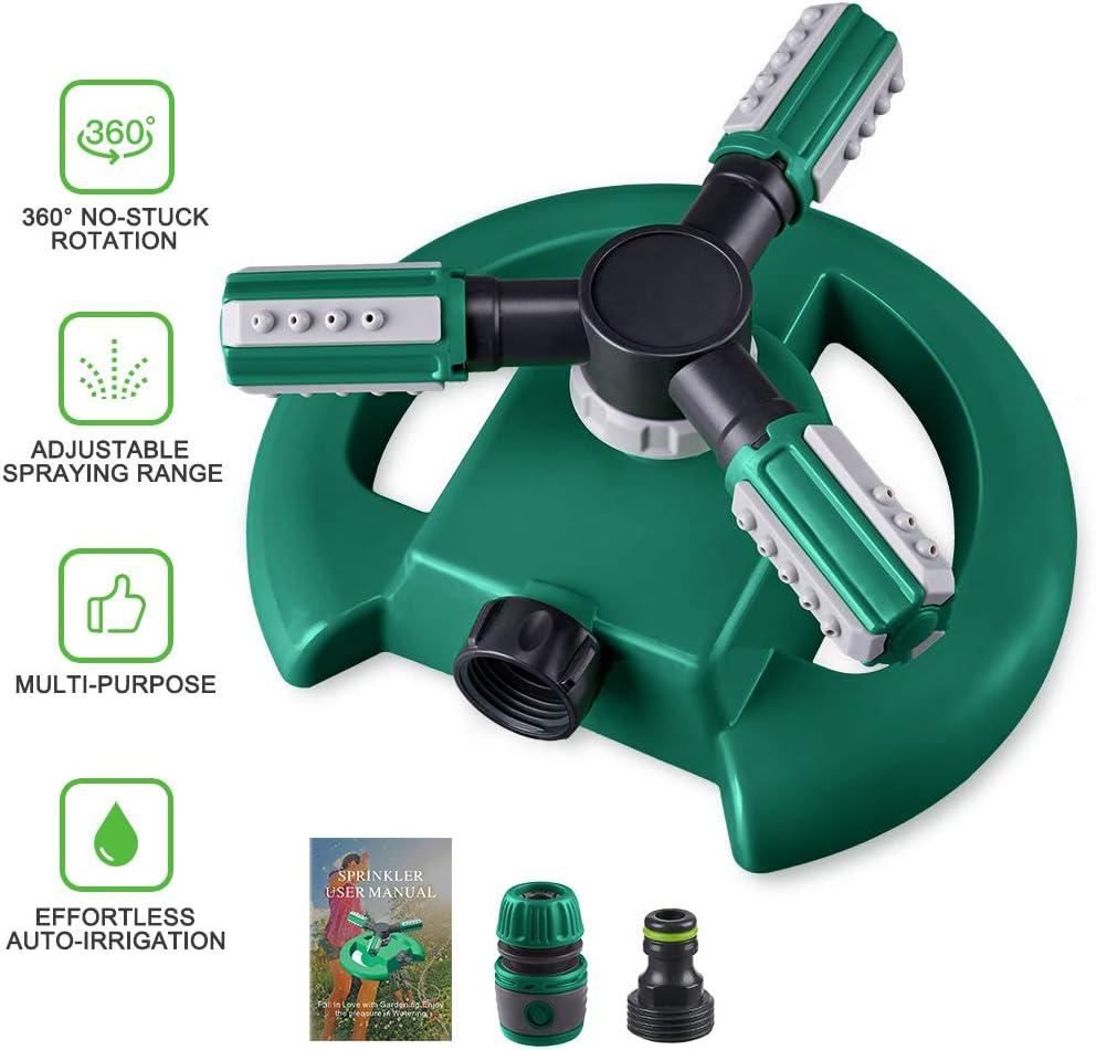 Patio, Lawn & Garden Gardening Hinastar Lawn Sprinkler,Automatic ...