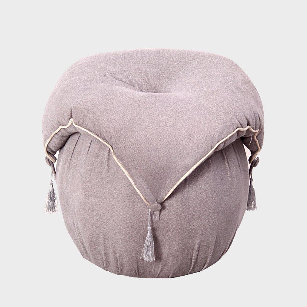 ZAYJD XRXY Creative European Cloth Footstool/Bedroom Bench/Dressing Table Stool/Foyer Change Shoes Stool