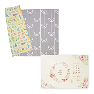 Baby Care Play Mat - Haute Collection & Milestone Mat - Blessings in Bloom