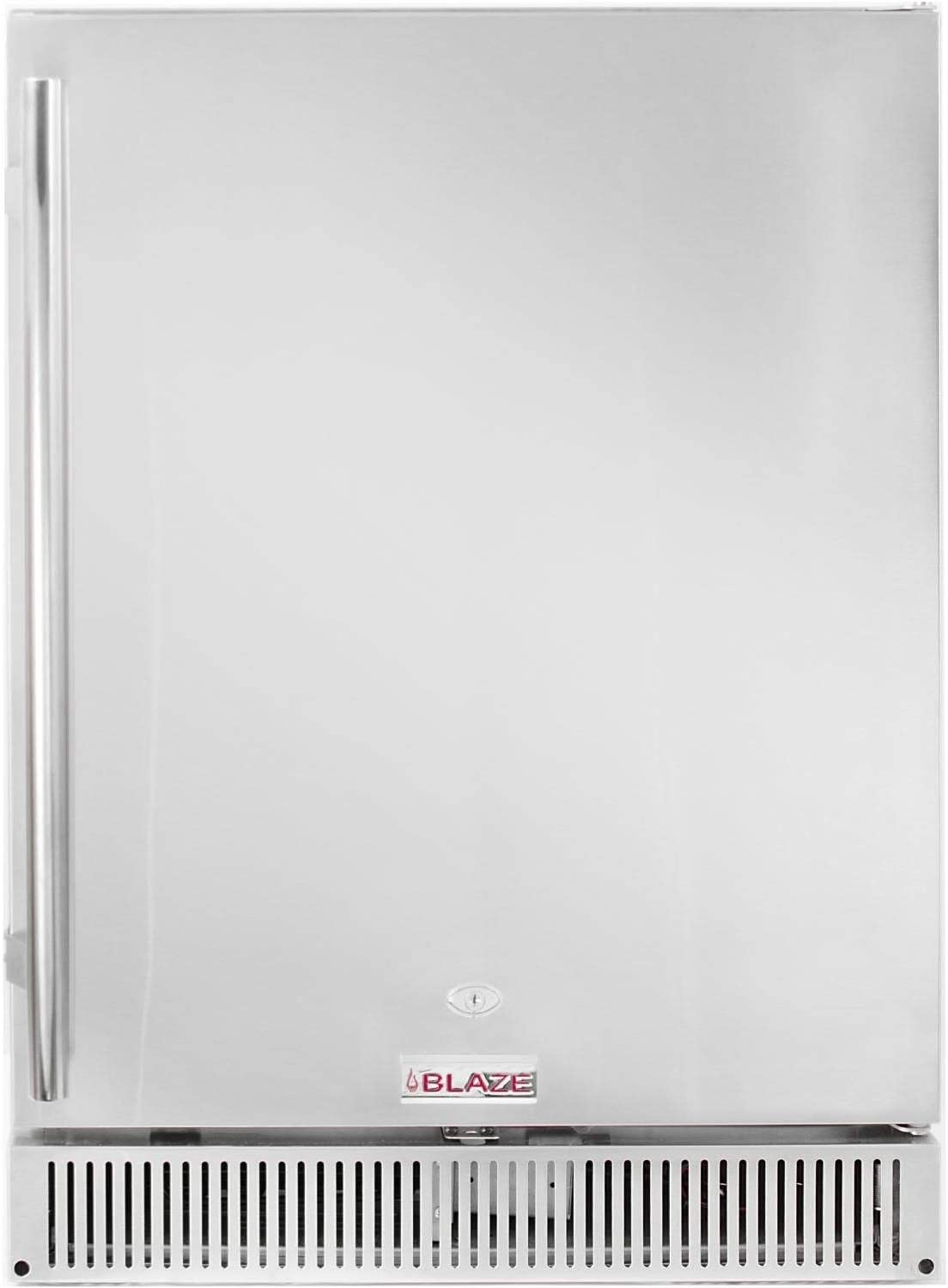 Blaze 24-inch Outdoor Rated Stainless Steel Refrigerator (BLZ-SSRF-50DH), 5.2 Cu Ft.