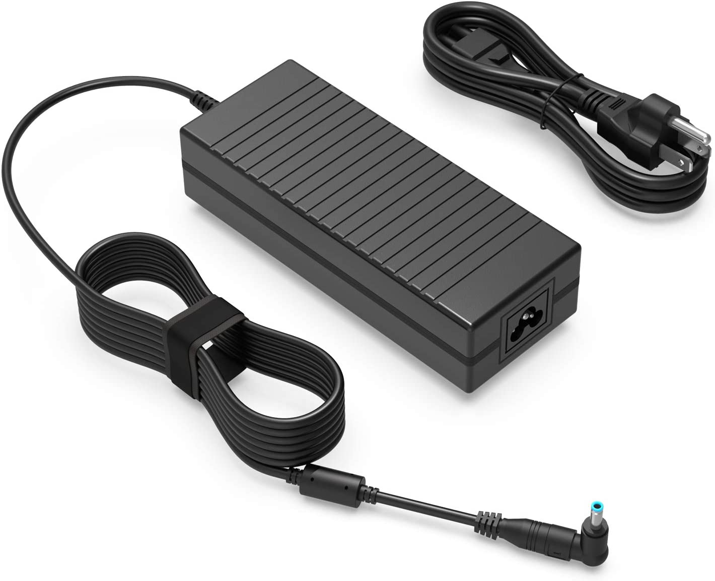 150W Power Supply Charger Fit for HP OMEN x by 15 17 ZBook Studio 15 G2 G3 G4 G5 G6 ADP-150XB B 776620-001 917677-003 917677-001 740243-001 15-dk0068wm Laptop Adapter Cord 19.5V 7.7A 150 Watt