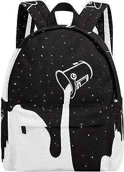 QIDI Traveling Backpack Bucket Basketball Bag Simple Backpack