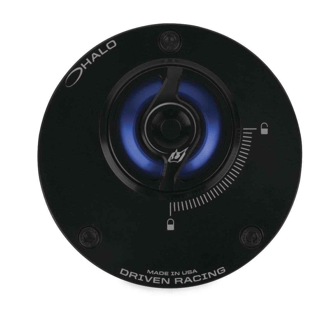Driven Racing DHFC-BL Halo Fuel Cap Blue