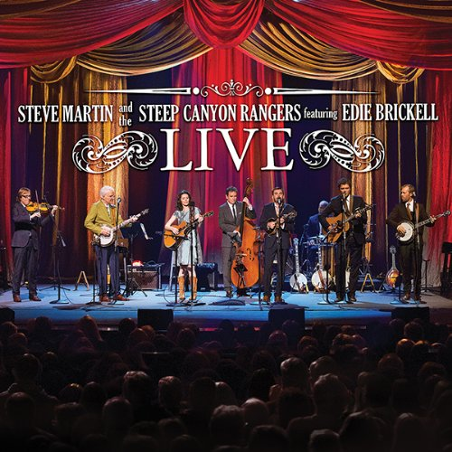 (Steve Martin And The Steep Canyon Rangers Featuring Edie Brickell Live [CD/DVD Combo] )