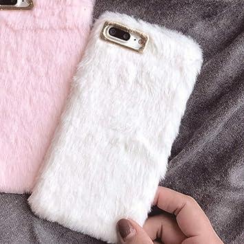 coque iphone 7 fausse fourrure
