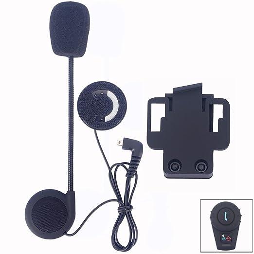 7 opinioni per FDC-Altoparlante e microfono con Clip & Set accessori per casco da moto con