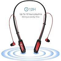 Riodo NH01 Wireless Earbuds 4.1 Bluetooth Headphones (Black & Red)