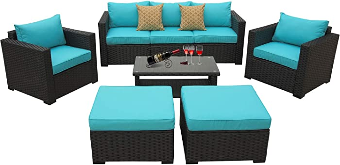 Top 9 Turqoise Outdoor Wicker Furniture