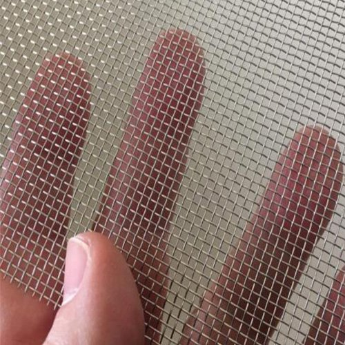 2 Piece Stainless Steel Woven Wire Mesh SS304 Rodent Mesh Insect Mesh By TORIS Pest Contol Mesh Window Screen Door Mesh (11.8X8.2