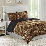Premier Comfort Zaire Comforter Mini-Set - Cheetah - Full/Queen