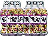 KINGS HERBAL Food Supplement 750ml Fruits Vegetables & Herb Fusion (6 Bottles)
