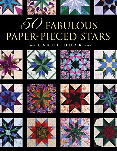 - 50 Fabulous Paper-Pieced Stars: CD included