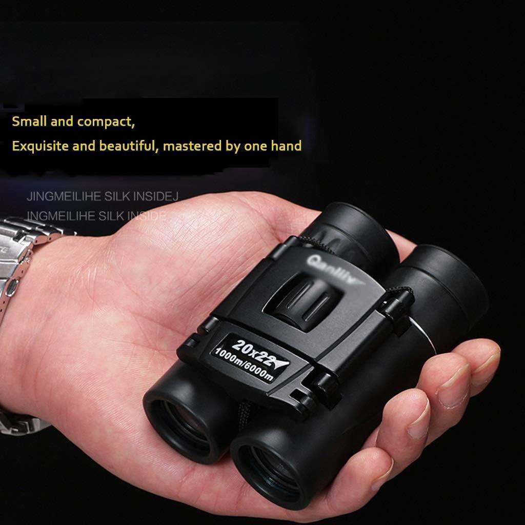 Teleskope Fernglas Fernglas Reisespiegel 20x22 Standardversion HD-Nachtsichtbrille Schwarze Taschenferngl/äser Erwachsene Kinderferngl/äser Kompakt Und Kompakt