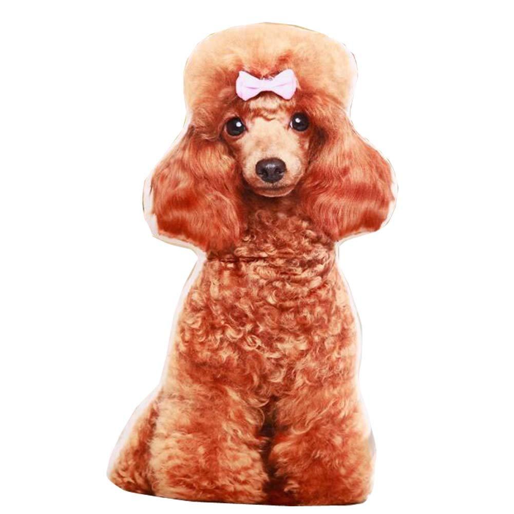 East Majik Simulation Dog Shape Pillow 3D Plush Toy Animal Pillow #3