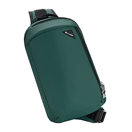 PACSAFE VIBE 325 ANTI-THEFT CROSS BODY PACK (FOREST)  Amazon.es ... 344cac6bf8a0a