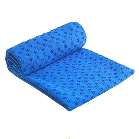 Amazon.com : Yungdelt Non Slip Cotton Yoga Mat Rug Plum ...